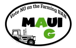 Maui Ag Bumper Sticker