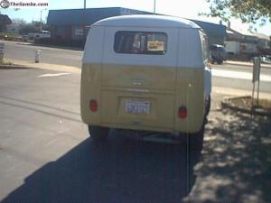 Yellow Volkswagen Bus