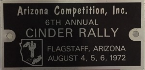 Cinder Rally Arizona Flagstaff 1972