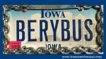 BERYBUS License Plate