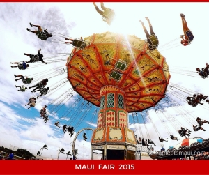 Maui Fair Spinning Ride