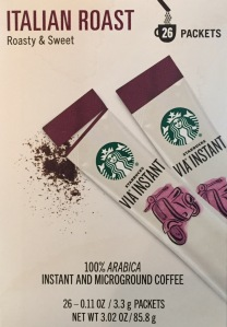 Starbucks Via Packets