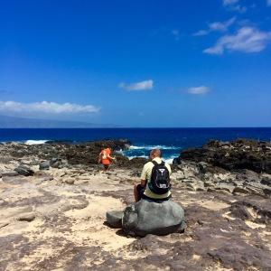 Thinking spot on Maui