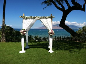 Wedding on Wailea