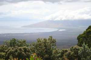 View of Kihei from above