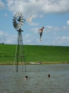 Epic high jump