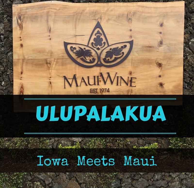 Ulupalakua Winery Cover
