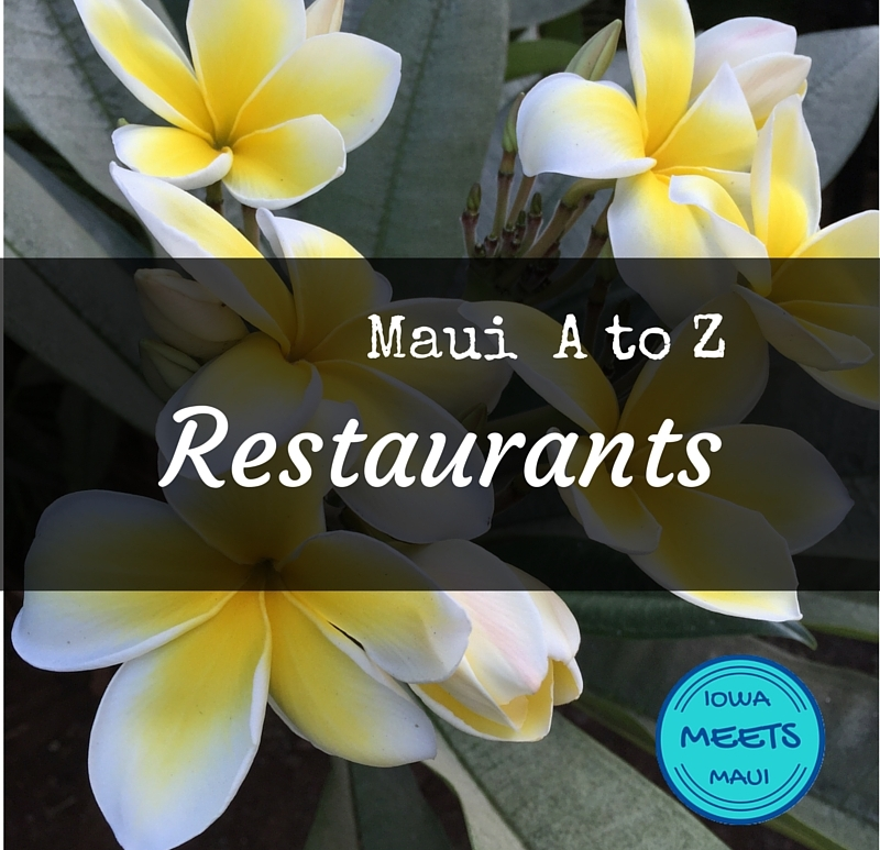 Maui A to Z on Plumeria