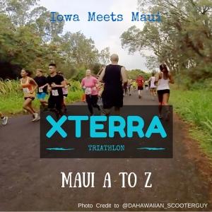 People running in XTERRA Maui 5K