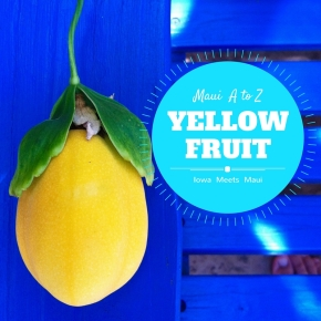 Maui A to Z: Yellow Fruit